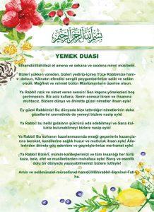 Türkçe Sofra Duası Diyanet