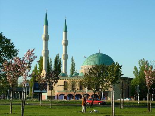 Mevlana Camii, Rotterdam, Hollanda