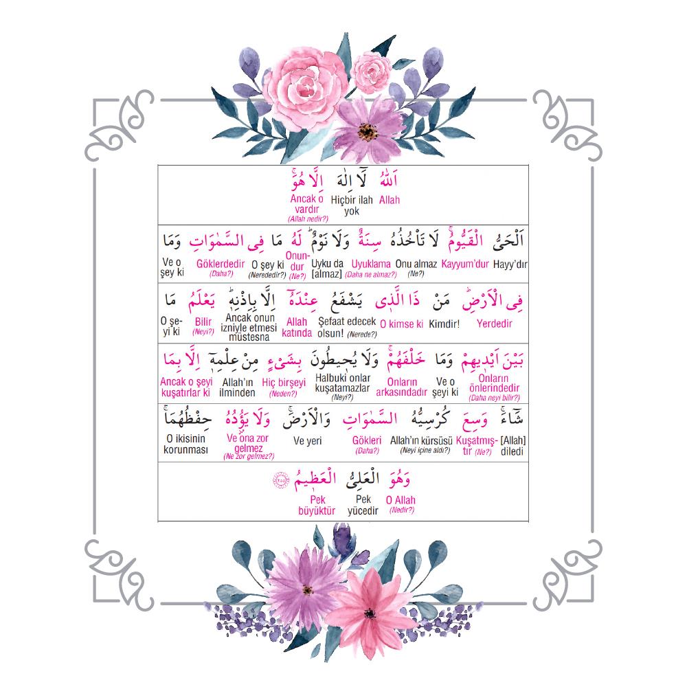 ayetel kürsi türkçe pdf