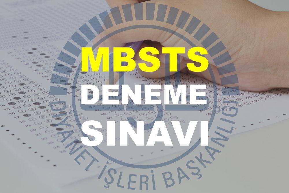 mbsts deneme sınavı 2018