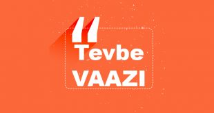 Tevbe Vaaz Diyanet